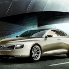 """Volvo Universe Concept Car Poster Print on 10 mil Archival Satin Paper 16"""" x 12"""""""