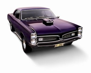 "Pontiac GTO (1970) Car Poster Print on 10 mil Archival Satin Paper 20"" x 15"""