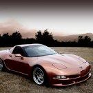"Wittera Chevrolet Corvette C5 Wide Body Car Poster Print on 10 mil Archival Satin Paper 20"" x 15"""