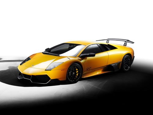 "Lamborghini Murcielago LP 670-4 SuperVeloce Car Poster Print on 10 mil Archival Satin Paper 36"" x 27"""