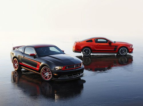 "Ford Mustang Boss 302 Laguna Seca (2012) Car Poster Print on 10 mil Archival Satin Paper 20"" x 15"""