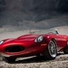 "Jaguar Eagle E-Type Speedster Car Poster Print on 10 mil Archival Satin Paper 20"" x 15"""