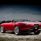 "Jaguar Eagle E-Type Speedster Car Poster Print on 10 mil Archival Satin Paper 16"" x 12"""