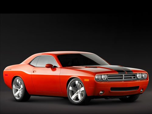 """Dodge Challenger RT Concept Car Poster Print on 10 mil Archival Satin Paper 36"""" x 24"""""""