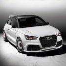 "Audi A1 Clubsport Quattro Concept Car Poster Print on 10 mil Archival Satin Paper 24"" x 18"""