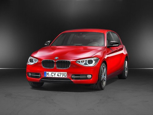 "BMW 1 Series (2012) Car Poster Print on 10 mil Archival Satin Paper 24"" x 18"""