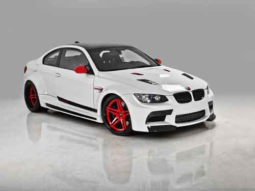 "BMW Vorsteiner GTRS3 Car Poster Print on 10 mil Archival Satin Paper 16"" x 12"""
