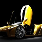 "Lamborghini Fly Concept Car Poster Print on 10 mil Archival Satin Paper 24"" x 17"""