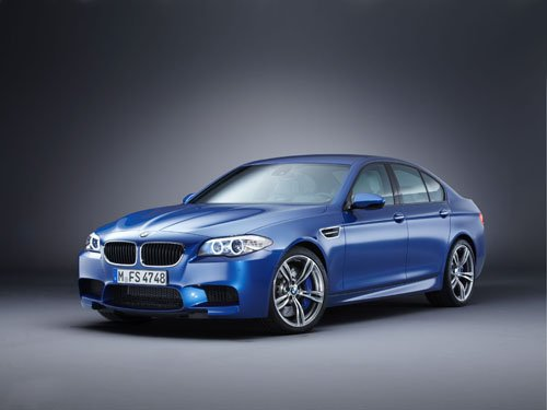 "BMW M5 2012 Car Poster Print on 10 mil Archival Satin Paper 24"" x 18"""