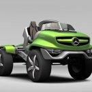 "Mercedes-Benz Unimog Concept Car Poster Print on 10 mil Archival Satin Paper 24"" x 18"""