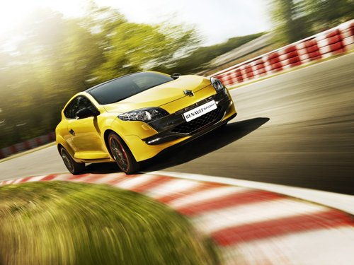 "Renault Megane RS Trophy Car Poster Print on 10 mil Archival Satin Paper 16"" x 12"""