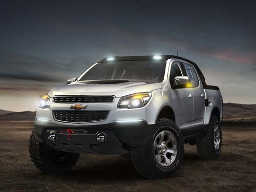 """Chevrolet Colorado Rally Concept Truck Poster Print on 10 mil Archival Satin Paper 16"""" x 12"""""""
