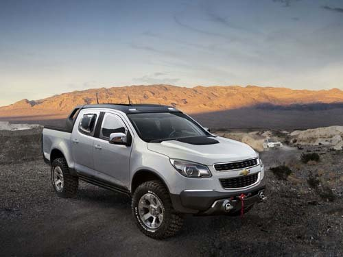 "Chevrolet Colorado Rally Concept Truck Poster Print on 10 mil Archival Satin Paper 16"" x 12"""