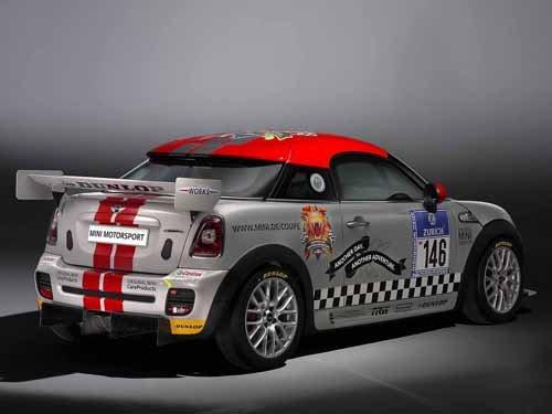 "Mini John Cooper Works Coupe Endurance Car Poster Print on 10 mil Archival Satin Paper 16"" x 12"""