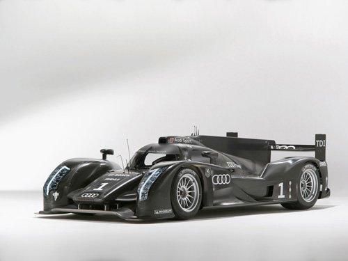 "Audi R18 Race Car Poster Print on 10 mil Archival Satin Paper 24"" x 18"""