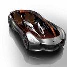 "Mercedes-Benz Aria Concept Design Car Poster Print on 10 mil Archival Satin Paper 16"" x 12"""