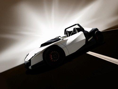 "M2Linx Design Concept Car Poster Print on 10 mil Archival Satin Paper 16"" x 12"""