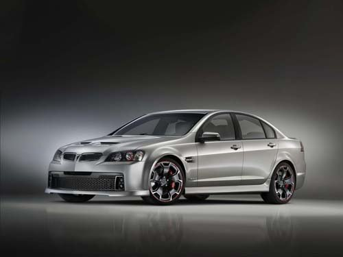 "Pontiac G8 GXP Street Concept Car Poster Print on 10 mil Archival Satin Paper 16"" x 12"""