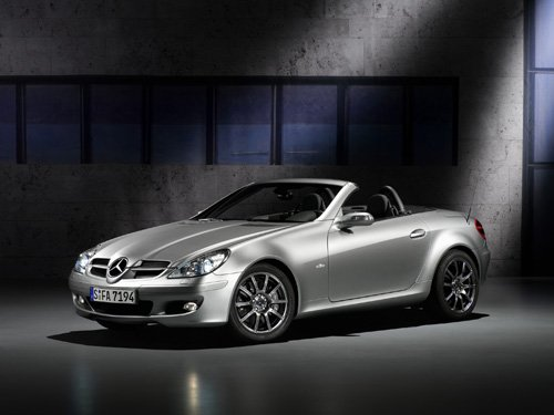 "Mercedes-Benz SLK Edition 10 Car Poster Print on 10 mil Archival Satin Paper 24"" x 18"""