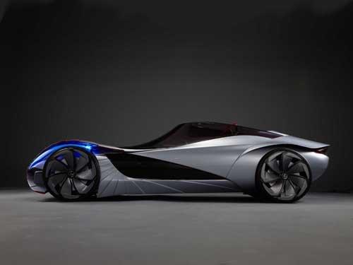 """Lexus Aileron Concept Car Poster Print on 10 mil Archival Satin Paper 36"""" x 24"""""""