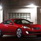 "Hyundai Genesis Coupe 2011 Car Poster Print on 10 mil Archival Satin Paper 16"" x 12"""