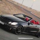"Brabus Mercedes E V12 Cabriolet Car Poster Print on 10 mil Archival Satin Paper 20"" x 15"""