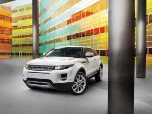 """Land Rover Range Rover Evoque 2011 Car Poster Print on 10 mil Archival Satin Paper 36"""" x 24"""""""