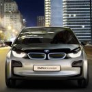 "BMW i3 Concept Car Poster Print on 10 mil Archival Satin Paper 16"" x 12"""