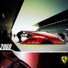 "Ferrari Enzo 2060 Concept Car Poster Print on 10 mil Archival Satin Paper 25"" x 17"""