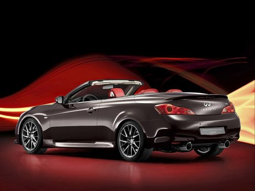 "Infiniti IPL G Cabrio Concept Car Poster Print on 10 mil Archival Satin Paper 36"" x 24"""