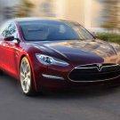 "Tesla Alpha Model S Car Poster Print on 10 mil Archival Satin Paper 16"" x 12"""