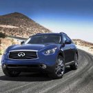 "Infiniti FX 35 Car Poster Print on 10 mil Archival Satin Paper 16"" x 12"""