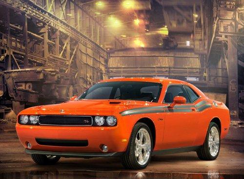 "Dodge Challenger RT Car Poster Print on 10 mil Archival Satin Paper 36"" x 24"""