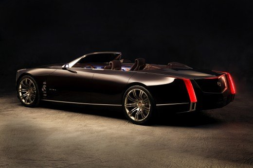 "Cadillac Ciel Concept Car Poster Print on 10 mil Archival Satin Paper 16"" x 12"""