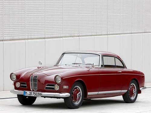 """BMW 503 Coupe Sport (1959) Car Poster Print on 10 mil Archival Satin Paper  16"""" x 12"""""""