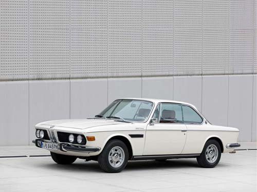 "BMW 3.0 CSI (1973) Car Poster Print on 10 mil Archival Satin Paper  16"" x 12"""