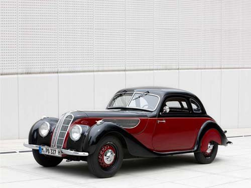 """BMW 327/328 Coupe (1939} Car Poster Print on 10 mil Archival Satin Paper 20"""" x 15"""""""