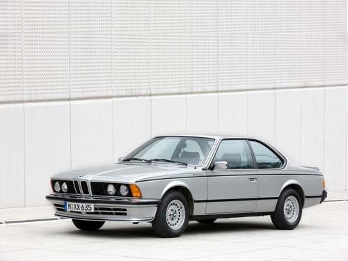"BMW 635 CSi (1981) Car Poster Print on 10 mil Archival Satin Paper 20"" x 15"""