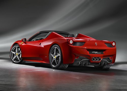 "Ferrari 458 Spider (2013) Car Poster Print on 10 mil Archival Satin Paper 20"" x 15"""
