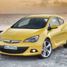 "Opel Astra GTC Car Poster Print on 10 mil Archival Satin Paper 36"" x 24'"