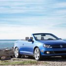 "Volkswagen Eos (2012) Car Poster Print on 10 mil Archival Satin Paper  16"" x 12"""
