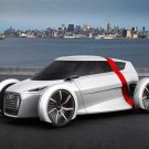 "Audi Urban Concept Car Poster Print on 10 mil Archival Satin Paper 16"" x 12"""