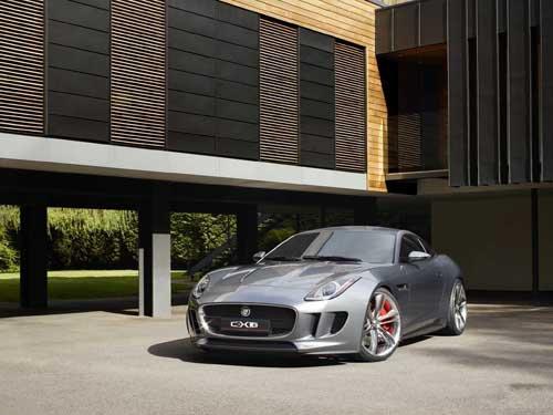"""Jaguar C-X16 Concept Car Poster Print on 10 mil Archival Satin Paper 16"""" x 12"""""""