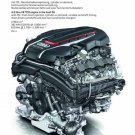 "Audi S8 4.0 Liter Engine Car Poster Print on 10 mil Archival Satin Paper 12"" x 16"""