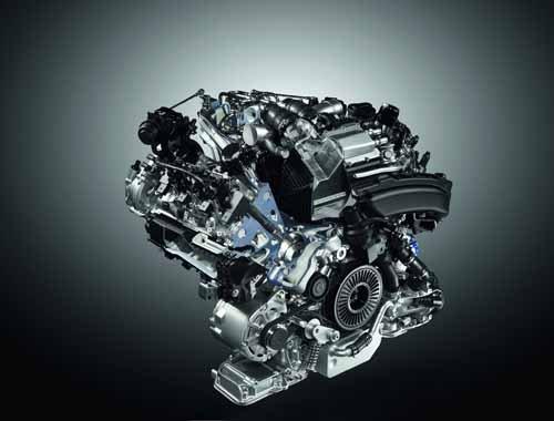 "Audi S8 4.0 Liter Engine Car Poster Print on 10 mil Archival Satin Paper 16"" x 12"""