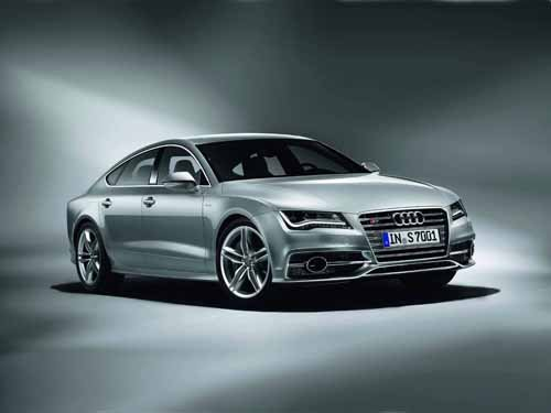 "Audi S7 Sportback (2012) Car Poster Print on 10 mil Archival Satin Paper 16"" x 12"""