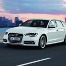 "Audi S6 Avant (2012) Car Poster Print on 10 mil Archival Satin Paper 24"" x 18"""