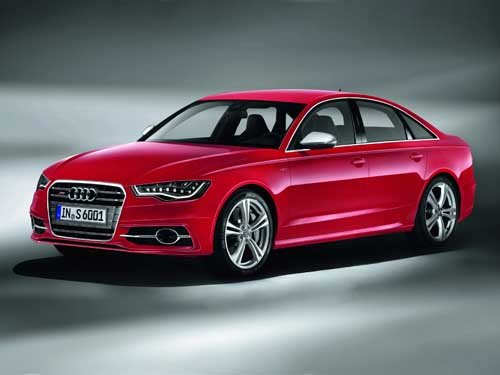"Audi S6 (2012) Car Poster Print on 10 mil Archival Satin Paper 24"" x 18"""