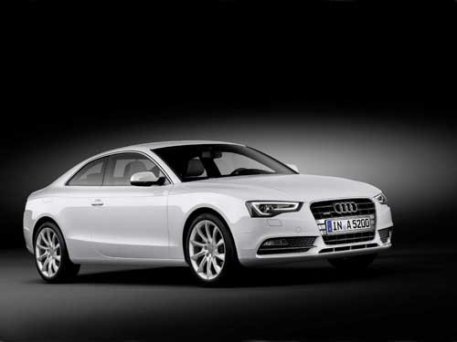 "Audi A5 (2012) Car Poster Print on 10 mil Archival Satin Paper 36"" x 24"""