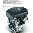 "Audi A5 2.0 Liter Engine Car Poster Print on 10 mil Archival Satin Paper 12"" x 16"""